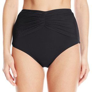 Coco Reef Diva High Waisted Bikini Bottoms Black